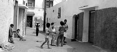 Azemmour (miguou) Tags: street blackandwhite blancoynegro children child noiretblanc streetlife morroco maroc maghreb medina rue enfant fille pretoebranco blackdiamond fillette photoderue moyenorient africanchildren azemmour