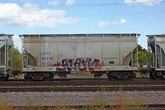 Alamo (The Braindead) Tags: art minnesota train bench photography graffiti interesting flickr painted tracks minneapolis rail explore most beyond alb alamo the flickrs