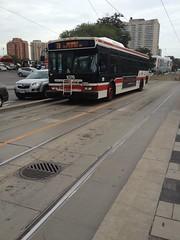 Toronto Transit Commission 1076 on 7B Bathurst (Orion V) Tags: toronto ttc 7b transit orion commission bathurst vii 1076