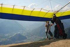 Hang_2 (Tim Meyer Paragliding Photography) Tags: slovenia tolmin soca kobala