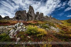 Á Skarðsströnd (SteinaMatt) Tags: blue autumn sky west nature rock matt landscape iceland nikon tokina ísland 1224 steinunn landslag haustlitir steina vesturland skarðsströnd dalir d7000 matthíasdóttir dalabyggð dalirdalabyggð