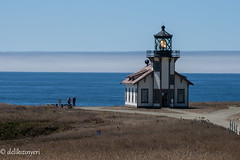 lighthouse (delikizinyeri) Tags: road ca sea usa lighthouse pointcabrillo