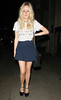 Diana Vickers outside Mahiki nightclub London, England