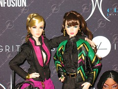 Twins (ava111sk/Dollypimp) Tags: jason face fashion toys official display nu convention wu royalty roux 2012 lineup victoire tropicalia integrity fr2 exclusives
