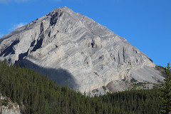 Folded Mountain by morning light 2012 (lmainjohnson7) Tags: mountain canada bc britishcolumbia alpine strata alaskahighway toadriver northernrockies foldedrocklayers
