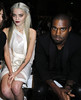 Sky Ferreira and Kanye West Paris Fashion Week Spring/Summer 2013 - Givenchy - Front Row Paris, France