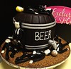 "Beer Keg cake • <a style=""font-size:0.8em;"" href=""http://www.flickr.com/photos/40146061@N06/8051230422/"" target=""_blank"">View on Flickr</a>"