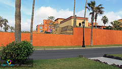 The Orange Wall!