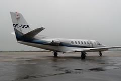 OE-GCB Cessna 560 Citation V Ultra (Guernsey Airport Photography) Tags: guernseyairport goldeckflug oegcb cessna560citationvultra