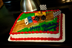 20120506-142030-DSC_1901 (noescapeartist) Tags: birthday cake monstertruck