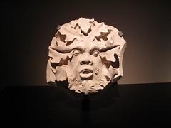 Clef de vote au masque de feuilles (Nefertyna) Tags: art nature leaf au arts du medieval muse des national qubec keystone middle et ages cluny feuille beaux vote mdival moyen ge