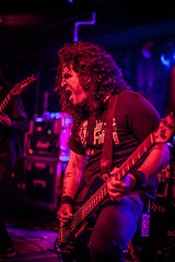 Bonded by Blood @ Peabody's (pyathia) Tags: ohio music metal hair la concert native live cleveland flip peabodys bondedbyblood carissarussellwork
