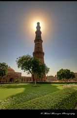 Qutub Minar, New Delhi (Mukul Banerjee (www.mukulbanerjee.com)) Tags: old sculpture india art history tourism archaeology monument beautiful architecture photography ancient nikon ruins minaret delhi muslim islam tomb landmark mosque tourist unescoworldheritagesite unesco worldheritagesite mausoleum photographs empire historical classical civilization sultan southeast dslr 14thcentury minar masjid cultural emperor medival newdelhi qutubminar islamic 2012 worldheritage lodhi shah southasia qutab d300 shahi mughal sigma1020mm mehrauli historicindia sultanate alaiminar quwwatulislam historicalindia iltutmish delhisultanate altamash imamzamin firozshahtughlaq indianheritage hindusthan alauddinkhilji qutbuddinaibak medivalindia bymukulbanerjee mukulbanerjeephotography mukulbanerjeephotography wwwmukulbanerjeecom mamlukdynasty wwwmukulbanerjeecom