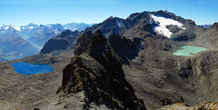 Vertigo (Wrinzo) Tags: sky mountain lake alpes lago switzerland hiking cielo svizzera alpi montagna engadin engadina engiadina pizpolaschin cantongrigione cantongraubunden