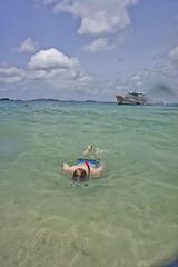 DSC09265 (andrewlorenzlong) Tags: beach water thailand boat sand andrew snorkeling kohchang kohrang kohrangyai korangyai