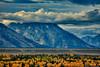 Clouds-Over-Grand-Teton-Mountains-in-Wyoming (Captain Kimo) Tags: bravo fallcolors wyoming moutain highdynamicrange grandtetonnationalpark photomatixpro hdrphotography topazadjust captainkimo