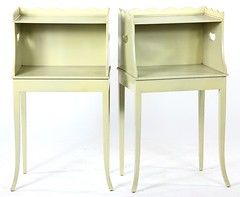 37. Pair of Painted French Side Stands