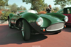 Aston Martin DB3 (pontfire) Tags: auto england france green cars car automobile vert voiture rouen coche carros carro oldtimer british normandie autos oldcars normandy classiccars automobiles coches aston astonmartin racer voitures sportscars racecars automobili britishcars antiquecars greencars davidbrown wagen db3s db3 sportive vieillevoiture legendcars voitureancienne voituredecourse voitureanglaise worldcars voituredesports astonmartindb3 automobiledecollection pontfire voituredelgende