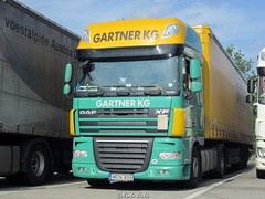 H - Daf XF105 Super Space Cab - Gartner KG (Marko-HRHB) Tags: gartnerkg austria hungary daf xf 105 super space cab transport lkw