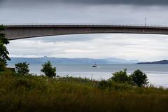 UK - Scotland - Isle of Skye - Kyleakin - Skye Bridge (Marcial Bernabeu) Tags: marcial bernabeu bernabu uk united kingdom unitedkingdom greatbritain reino unido reinounido granbretaa scotland escocia skye isle isla isleofskye isladeskye kyleakin bridge puente skyebridge