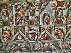 Sistine Chapel HDR (gustavobaszynski) Tags: hdr sistinechapel sistine michelangelo masterpiece
