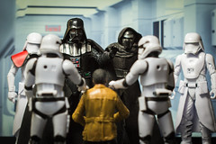 You Cant Resist (Vimlossus) Tags: starwars blackseries darthvader kyloren stormtroopers toy