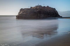 Seal Rocks (katiewong511) Tags: sanfrancsico oceanbeach beach pacific cliffhouse dogarea fishing outdoor california sunset goldengatepark nationalpark foggy surfing