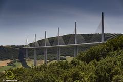 Millau Bridge - France (Erroba) Tags: millaubridge highest engineering big erlend robaye erroba belgium belgi belgique canon 5dmarkiii