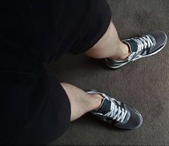 Nikes with Shorts (DCshoesboy92) Tags: freeball sockless freeballing nike