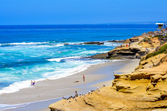 Nice Place (Jorge Hamilton) Tags: california los angeles santa monica san diego miniatura praia beach sun sol cliffs shores jorgehamilton brandao brando flickr photo foto fotografia photography