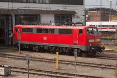 DB 111 053 Bw Mnchen Hbf (daveymills31294) Tags: bahnbetriebswerk mnchen hbf db 111 053 deutsche bahn bahnwerk