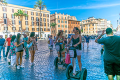 Segways in Rome (globalholidays) Tags: italy rome segway