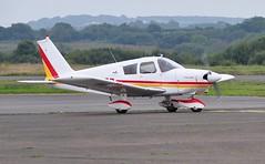 G-AVSD (goweravig) Tags: gavsd piper cherokee visiting aircraft swansea wales uk swanseaairport