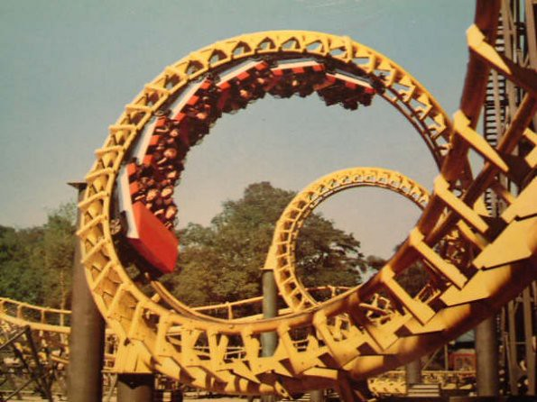 Corkscrew in Festival Park