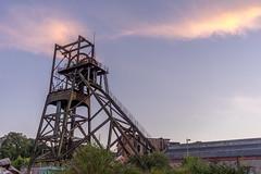 Evening sunset at Penallta Colliery (mi.kelly) Tags: wales penallta sunset sonya7 sony colliery
