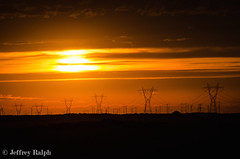 DSC_1139 (ralphsplitter) Tags: idaho wendel gooding power lines high tension towers electricity energy sunset orange