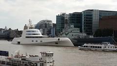 Motor A Yacht (sarflondondunc) Tags: motoryachta superyacht andreymelnichenko hmsbelfast pooloflondon southwark london riverthames cityhall morelondon southwarkcrowncourt