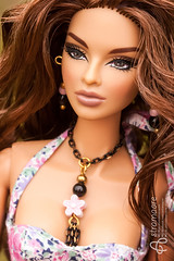 Isha (astramaore) Tags: 16 astramaore fashion doll toy royalty fashiondoll fashionroyalty necklace tan tanned isha kalpana narayanan scene stealer curly curves fulllips hazeleyes beauty chic glamour integritytoys dollphotography