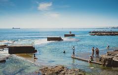 Beach Life (Julian VH) Tags: lisbon portugal summer water estoril cascais nikon d600 julianvh beach sun