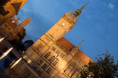 BS Rathaus (T.M.-Photography) Tags: braunschweig rathaus dmmerung stadt gebude spiegelung architektur blaue stunde city building architcture darkness mirroring