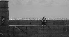 Frame the indifference [EXPLORED] (stendol [L.B.W.L.]) Tags: recco frame indifference indifferenza mare stage life palcoscenico palco scena torre sipario indifferente teatro vita layers linee liguria costa coppia passante lungomare camminando muro composizione blackwhite bianconero