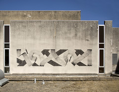 Blaqk. Ancien hpital, Lagny sur Marne. (Clement Guillaume) Tags: blaqk mural lagny lagnysurmarne hopital hpital mur simec calligraphie calligraphy painting peinture wall abandonn abandonned gregpapagrigoriou simek papagrigoriou street streetart drawing grafs artistecontemporain artiste contemporain artist handwriting typography ecriture calligraphic abstraction