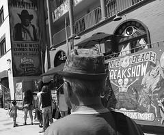 Freak Show (Tyler Merbler) Tags: allseeingeye wildwest usa california losangeles hat freakshow venicebeach