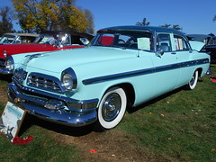 1955 Chrysler New Yorker Deluxe (splattergraphics) Tags: 1955 chrysler newyorker mopar carshow aacaeasterndivisionfallmeet antiqueautomobileclubofamerica aaca hersheypa