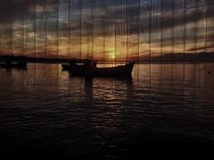Wallpaper for Sliders Sunday (Betsie Nel) Tags: sunset boats fun ipad sliderssunday picsart wallpaper