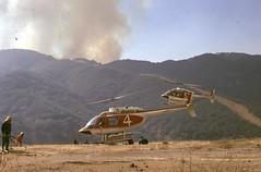 Topanga Canyon Brush Fire November 1973