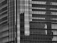 jc1 (SG Dorney) Tags: city windows urban blackandwhite bw abstract building window architecture newjersey jerseycity nj modernarchitecture bigmomma canoneos60d fotocompetition fotocompetitionbronze