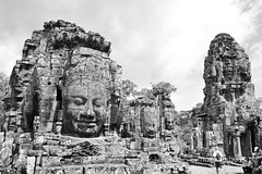 Bayon Temple, Angkor Wat, Cambodia (myu) Tags: world heritage monument stone wonder temple site sand worship cambodia king khmer faces structures buddhism tourist unesco holy national siem reap thom gigantic angkor wat popular shrines attraction bayon cravings jayavarman mahayana earthasia