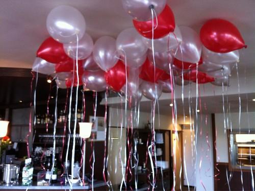 Heliumballonnen Prins van Terbregge Rotterdam