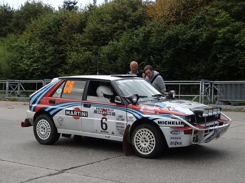ADAC Rallye Deutschland 2012 383 Arena Panzerplatte - Historic Marathon